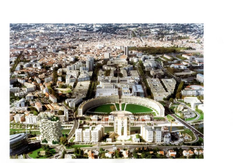 Montpellier la folie richter sera sign e sou fujimoto for Conception jardin sete