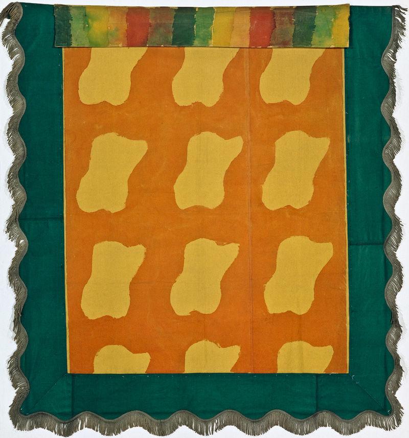 Claude viallat fen tre tahiti hommage matisse 1976 for Matisse fenetre a tahiti