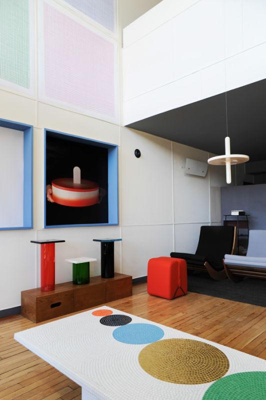 Pierre charpin l 39 appartement n 50 le corbusier marseille - Appartement le corbusier ...