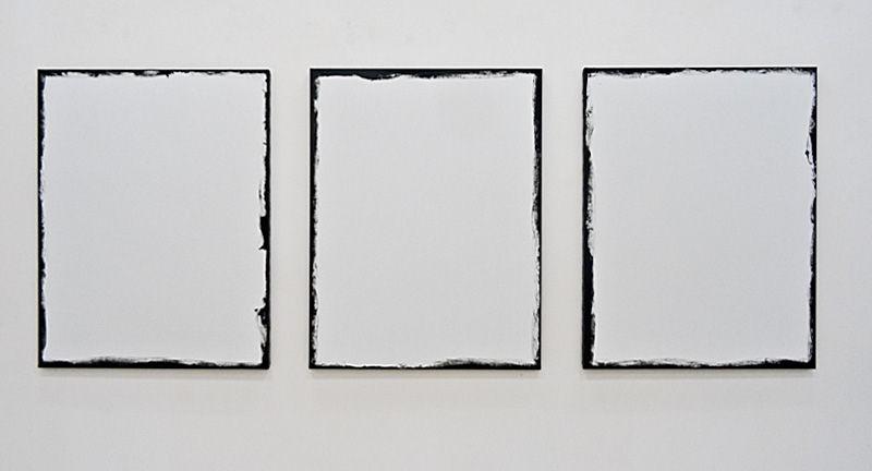 Timothée Talard, Hors Cadre 50F, 2014. Galerie Gourvennec Ogor à Marseille
