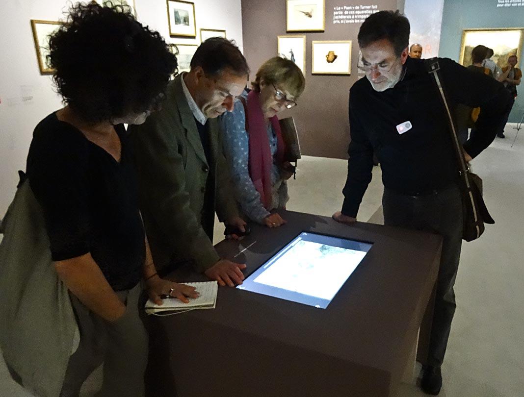 Turner et la couleur l h tel de caumont aix en provence salle 2 la pe - Frac marseille adresse ...