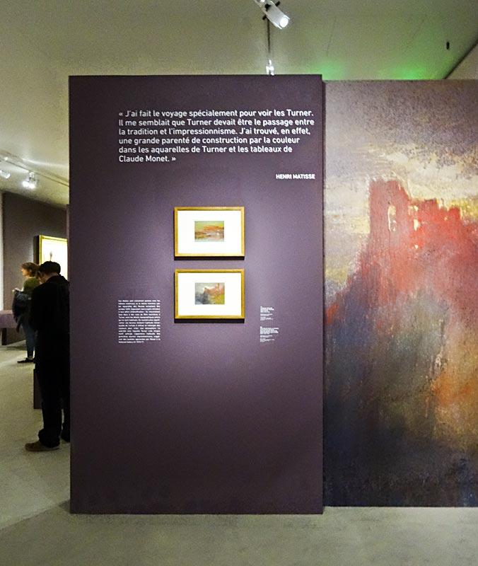 Turner et la couleur l h tel de caumont aix en provence salle 6 les v - Frac marseille adresse ...