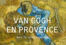 "Affiche de l'exposition ""Van Gogh en Provence"". © Fondation Vincent van Gogh Arles"