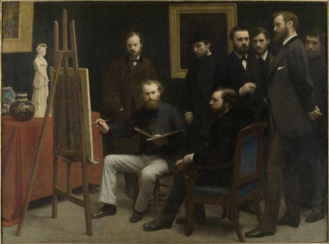 Fr d ric bazille la jeunesse de l impressionnisme au mus e fabre - Musee d orsay expo ...
