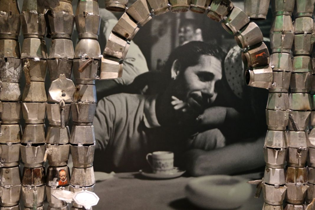 Vue de l 39 exposition caf in octobre 2016 mucem mucem agn s mel - Frac marseille adresse ...