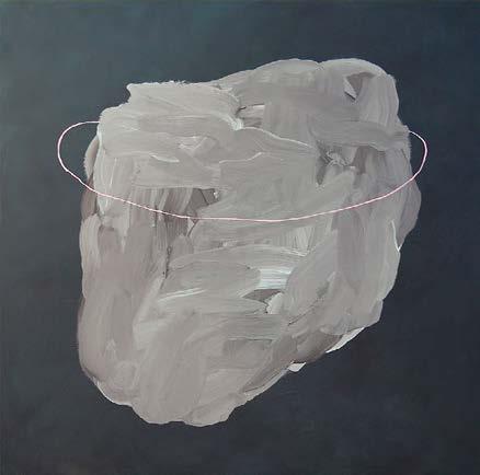 Claire Colin-Collin. Sans titre, 165 x 150 cm, peinture acrylique sur toile, 2014