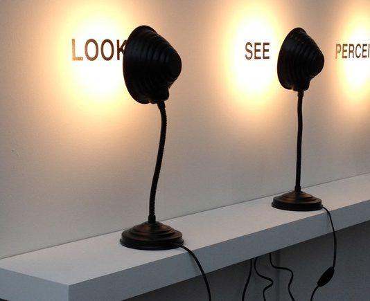 Antoni Muntadas, Regarder, voir, percevoir, 2009 © ADAGP, Paris, 2017 - Collection de Josée et Marc Gensollen
