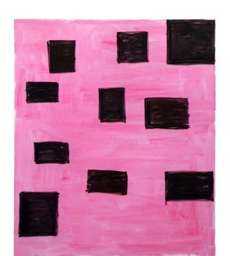 Marie-Claude Bugeaud. Sans titre, 190 x 160 cm, acrylique et huile sur toile, 2014.