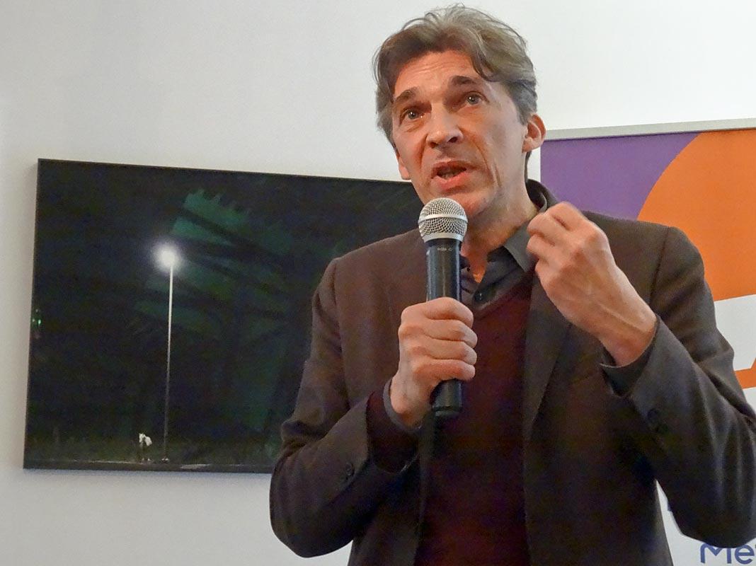 Nicolas Bourriaud à La Panancée