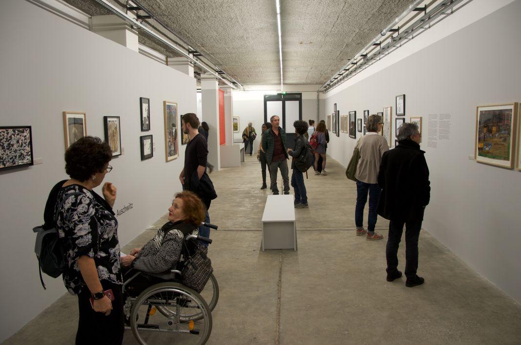 Ceija stojka artiste rom la friche belle de mai vue de l 39 exposition - Frac marseille adresse ...