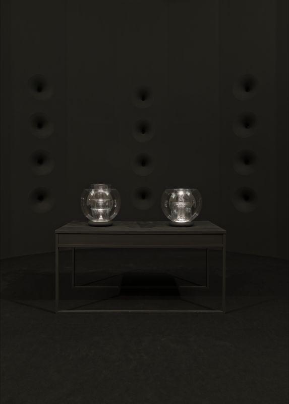 Pascal Broccolichi, Espace résonné, 2012-2013 Exposition « Seconde-lumière de Pascal Broccolichi », Centre d'art contemporain La Maréchalerie, Versailles, 2015 Photo : A. Mole