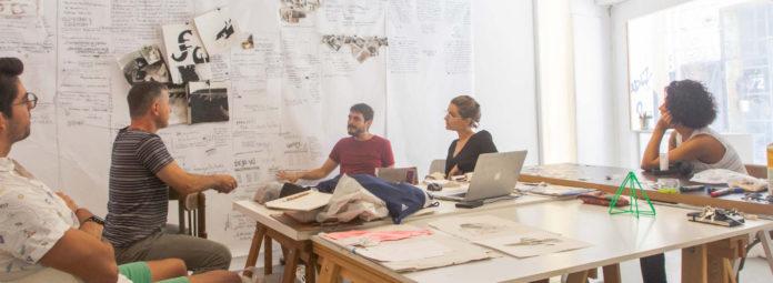 Dos Mares - Séance de travail avec l'équipe curatorial, Septembre 2019