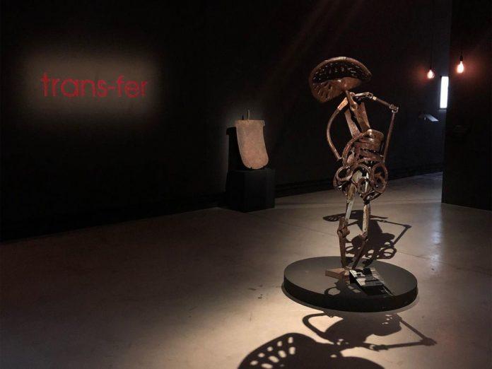 Trans Fer - Vue de l'exposition à la Fondation Blachère à Apt